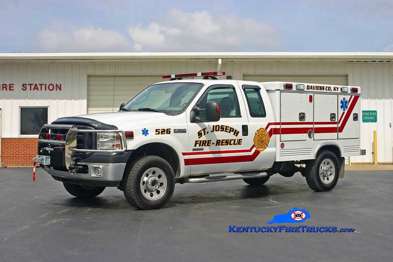 St. Joseph  Rescue 526<br /> 2006 Ford F-350 4x4/Swab<br /> Kent Parrish photo