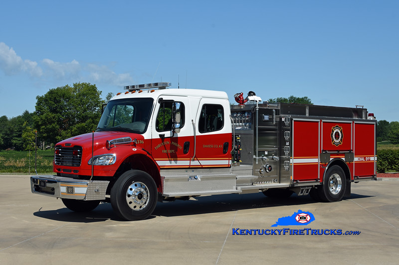 Thruston-Philpot Engine 316<br /> 2019 Freightliner M2-106/Toyne 1250/1000<br /> Kent Parrish photo