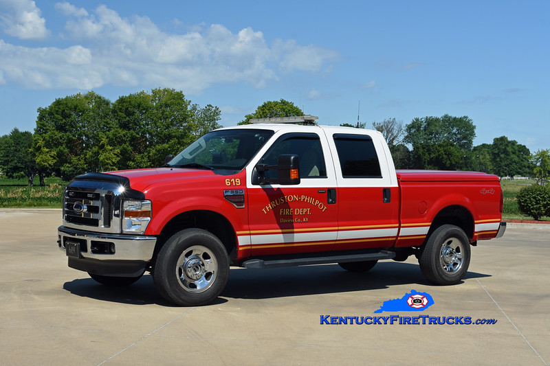 Thruston-Philpot Unit 619<br /> 2009 Ford F-350 4x4<br /> Kent Parrish photo