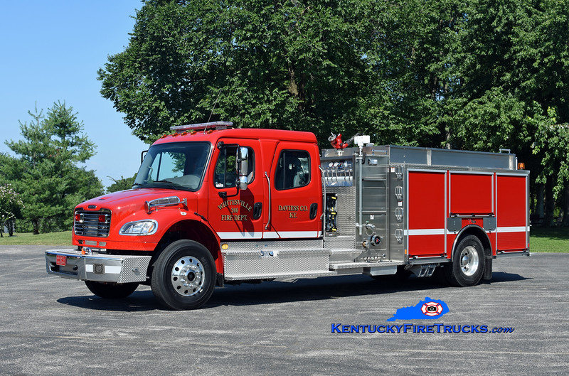 Whitesville  Engine 206<br /> 2018 Freightliner M2-106/Toyne 1250/1000<br /> Kent Parrish photo