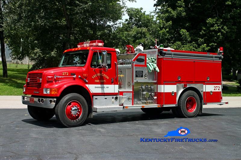 <center> RETIRED <br> Yelvington  Engine 272 <br> 1998 International 4900/E-One 1250/1000 <br> Kent Parrish photo <br> </center>