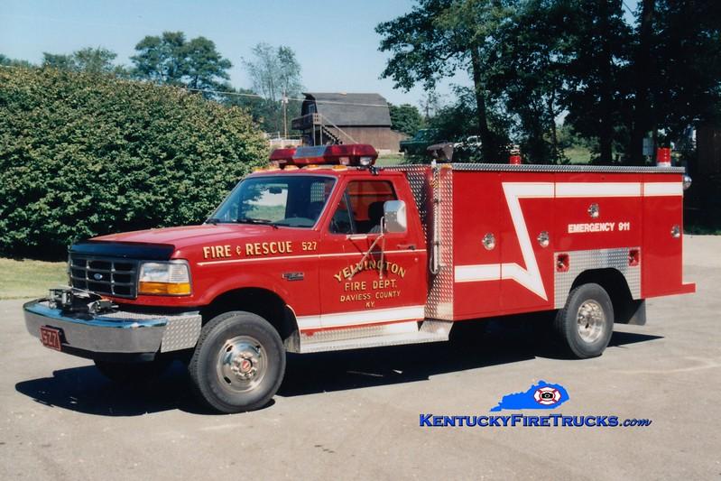 <center> Yelvington  Rescue 527 <br> 1994 Ford F-350 4x4/Browns Valley Body <br> Greg Stapleton photo <br> </center>