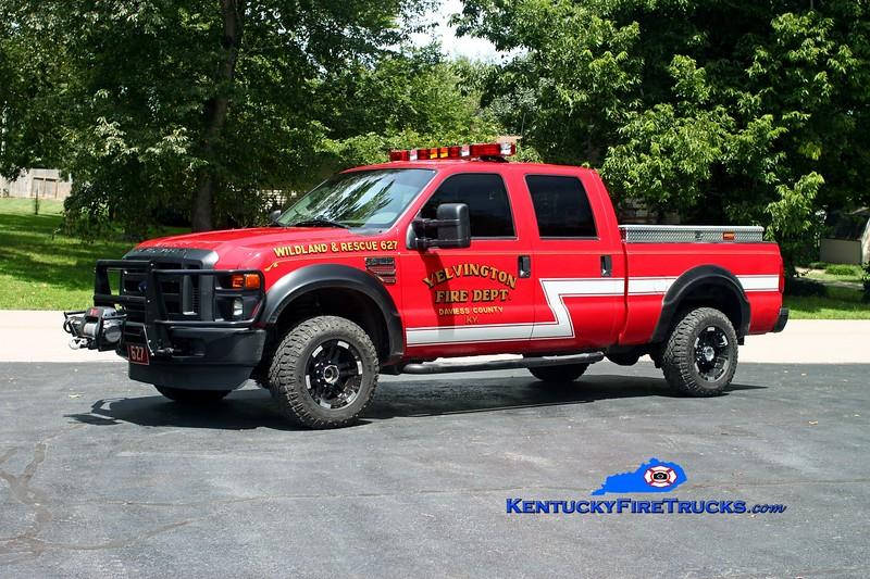 <center> Yelvington  Brush 627 <br> 2009 Ford F-250 4x4/YFD HPP/100 <br> Kent Parrish photo <br> </center>