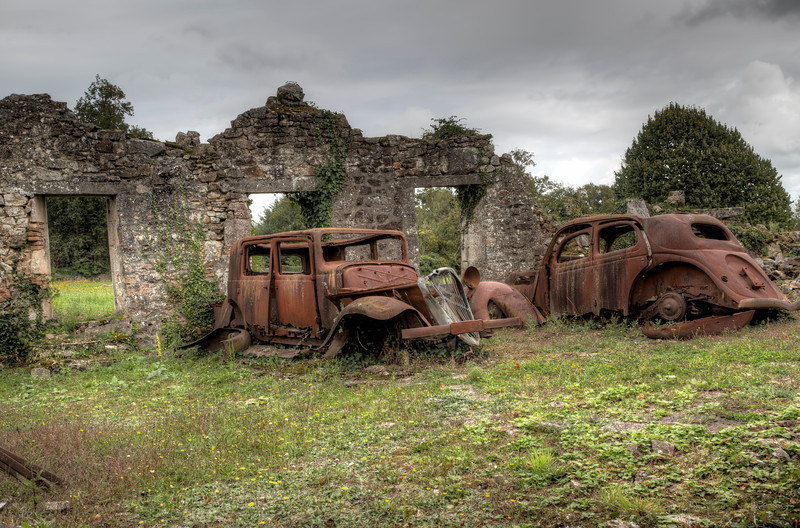 Rusted Out Automobiles