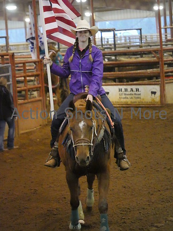 Deep South Little Britches Rodeo, Ruston, 2/17/18