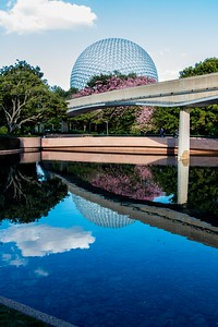 Spaceship Earth Reflection