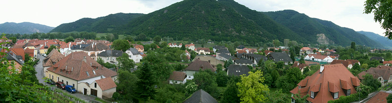 One of the many small towns we biked through on our 20 mile trek along the Danube River.