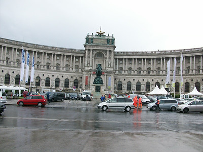 The Hofburg Complex in Vienna.
