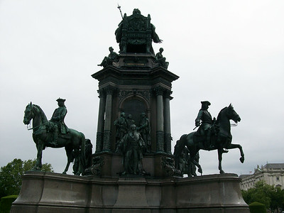 The Hofburg Complex in Vienna.