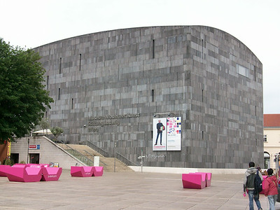 The Museum of Modern Art in the MuseumQuartiers.
