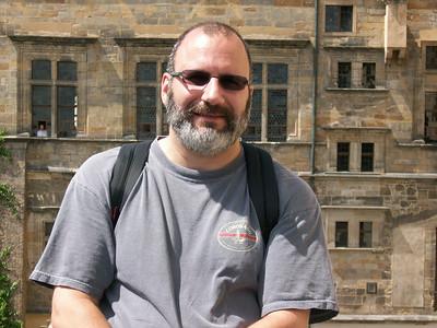 Joe at Prague Castle.