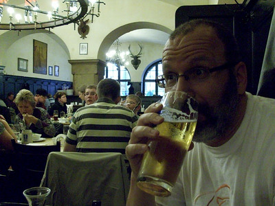 Cold draft beer in one of Munich's many beer halls is the perfect answer to a long day of sight-seeing.