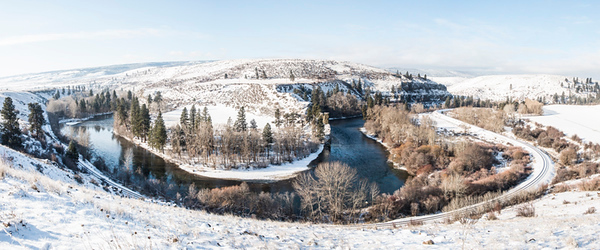 Bend of the River, Winter