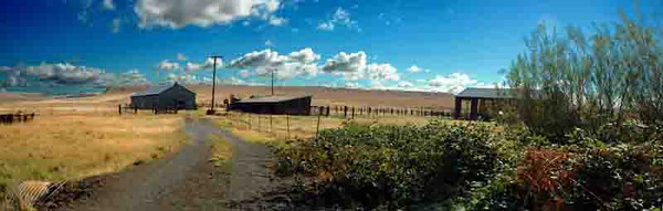 Columbia River farmstead