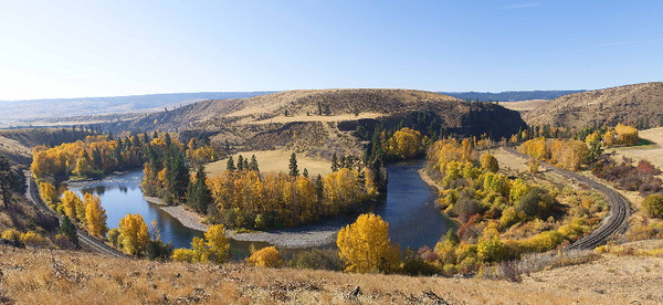 Bend in the river, Autumn II
