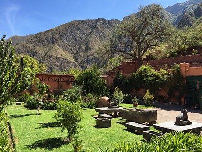 Our guide and driver took us to this incredible family-owned plantation for lunch on our way to Urubamba: Hacienda Huayoccari.