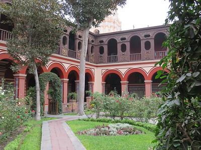 Convento de Santa Domingo in Lima, Peru.