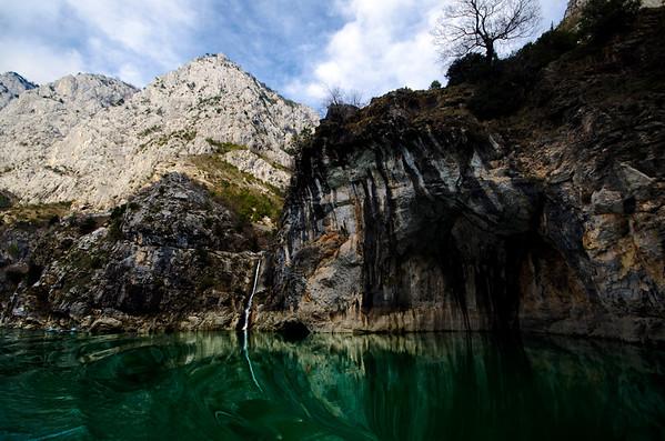 Lake Koman Falls