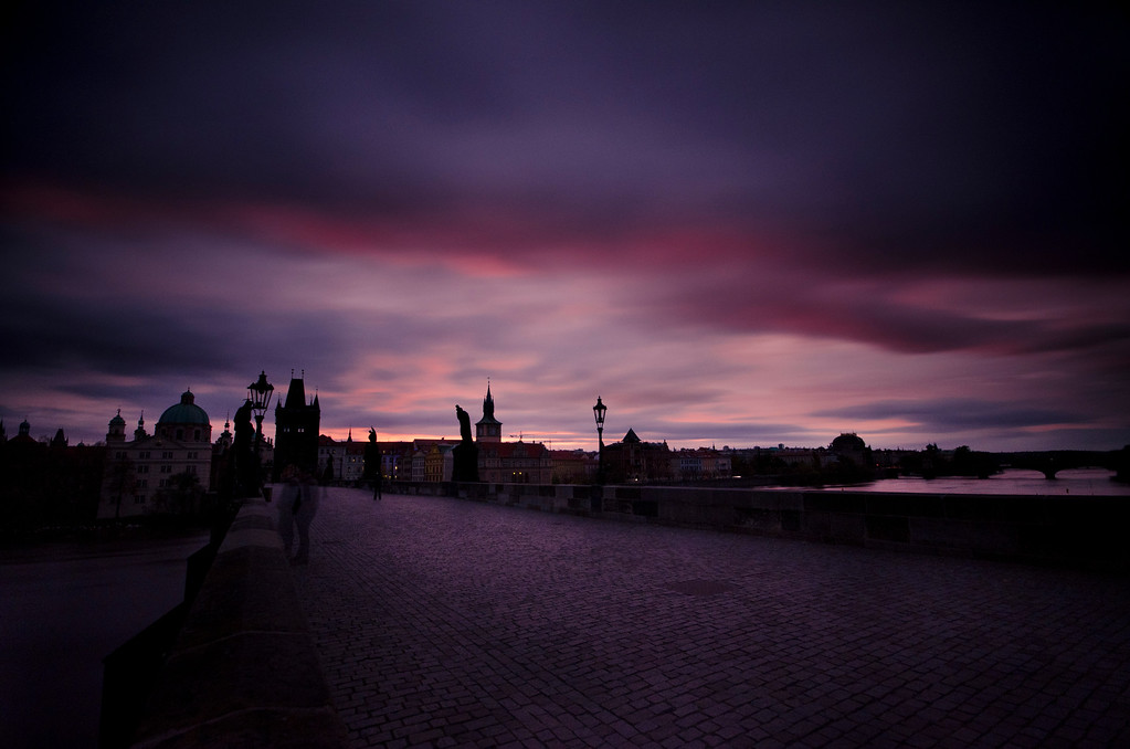 Time Passing on Charles Bridge