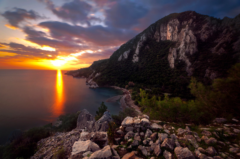 Sunrise Olympos