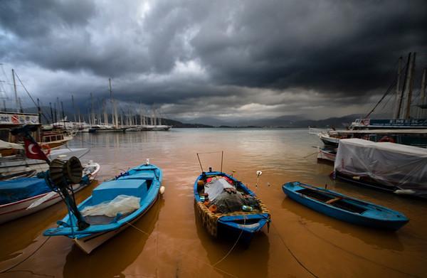 Stormy Fethiye
