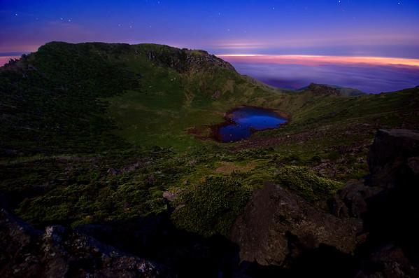 Hallasan Crater