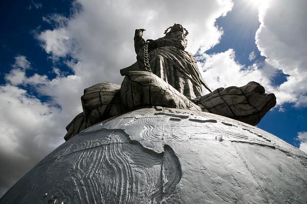 Quito's Statue