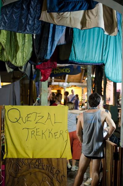 Quetzaltrekker homebase