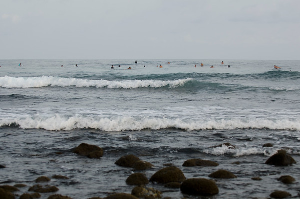 Surfers at Tunco