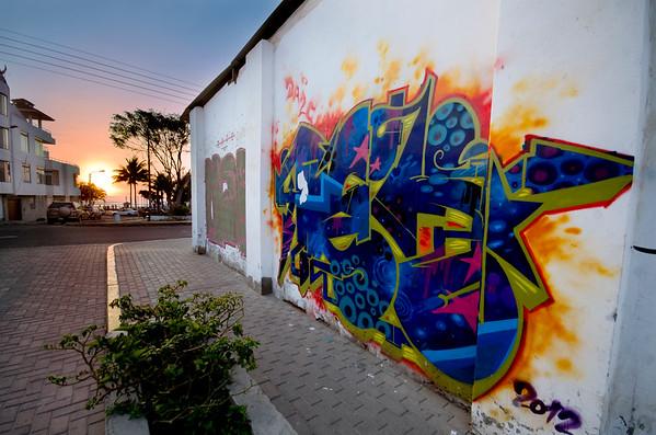 Graffiti in Trujillo 4