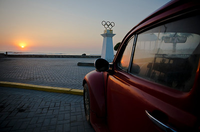 VW Sunset