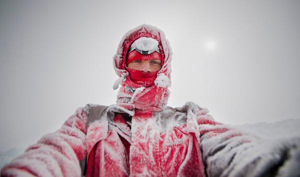 Selfie on the summit