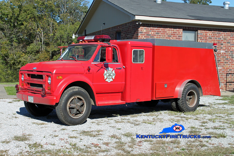 Bear Creek  Tanker 32<br /> 1972 Chevy C50/Complete Steel 250/2000<br /> Kent Parrish photo