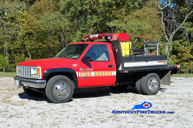 Bear Creek  Brush 35<br /> 1995 Chevy 3500 4x4/Fontaine 250/250<br /> Kent Parrish photo