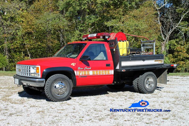 Bear Creek  Brush 35<br /> 1995 Chevy 3500 4x4/Fontaine 250/250<br /> Kent Parrish photo