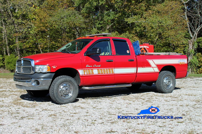 Bear Creek  Squad 34<br /> 2003 Dodge 2500 4x4 125/150<br /> Kent Parrish photo