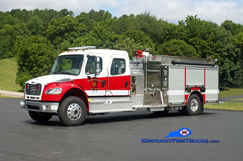 Brownsville  Engine 24<br /> 2017 Freightliner M2-106/Toyne 1500/1250/25<br /> Kent Parrish photo