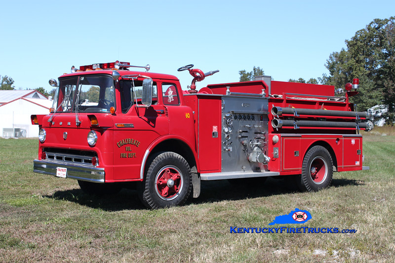 Chalybeate  Engine 60B<br /> 1972 Ford C-850/Ward LaFrance 1000/750<br /> Kent Parrish photo
