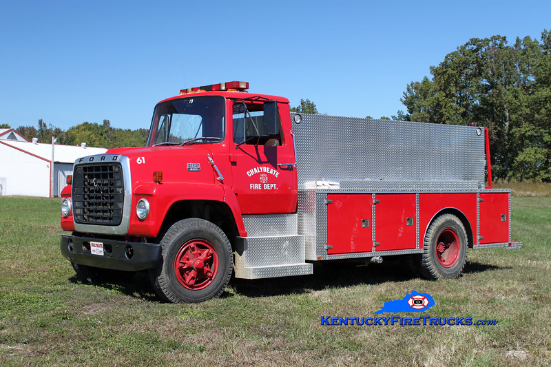 Chalybeate  Tanker 61<br /> 1979 Ford L-800/Wimpee Welding 250/1500<br /> Kent Parrish photo