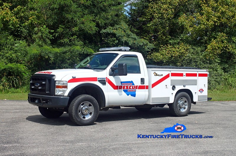 Kyrock  Rescue 121<br /> 2007 Ford F-250 4x4/Knapheide<br /> Kent Parrish photo