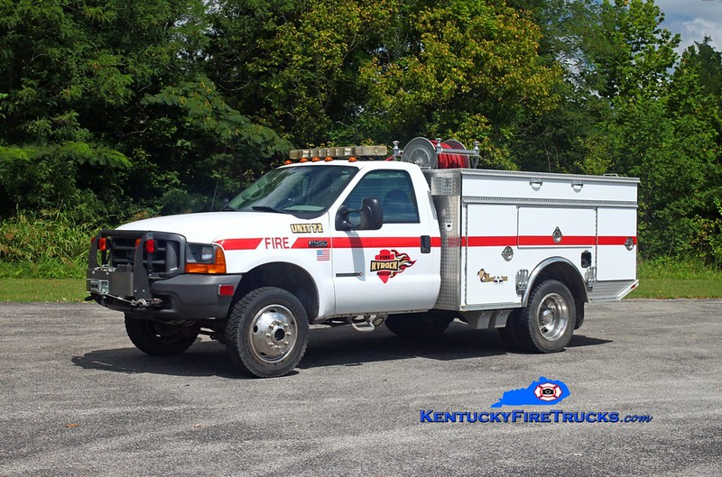 Kyrock  Unit 72<br /> x-Mammoth Cave National Park, KY<br /> 2000 Ford F-450 4x4/BME 110/300/10<br /> Kent Parrish photo