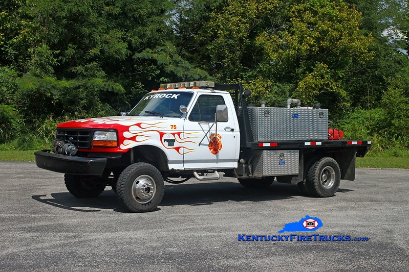 Kyrock  Brush 75<br /> 1991 Ford Super-Duty 4x4/FD-Local 250/250/10<br /> Kent Parrish photo