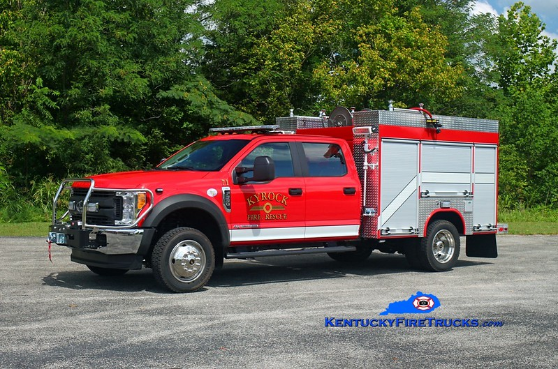 Rescue 71<br /> 2017 Ford F-550 4x4/Fouts Bros 250/300/10<br /> Kent Parrish photo