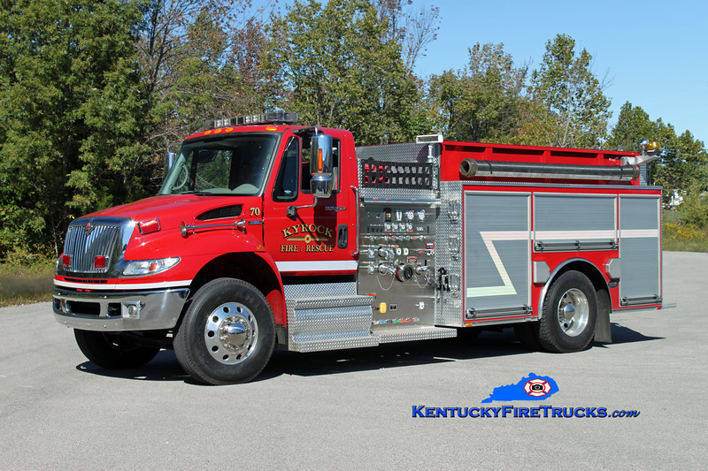 Kyrock  Engine 70<br /> 2011 International 4400/Bluegrass 1250/1000<br /> Kent Parrish photo