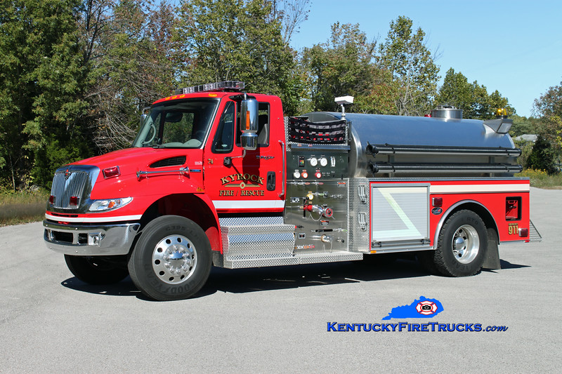 Kyrock  Tanker 74<br /> 2009 International 4400/Bluegrass 500/2000<br /> Kent Parrish photo