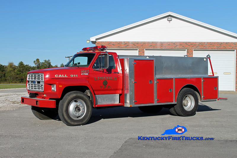 Lincoln  Tanker 803<br /> 1986 Ford F-700/Wimpee Welding 250/1100<br /> Kent Parrish