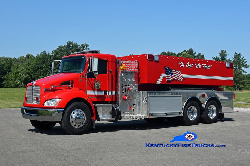 Lincoln  Tanker 808<br /> 2018 Kenworth T-370/Southeast Apparatus 750/3000<br /> Kent Parrish photo