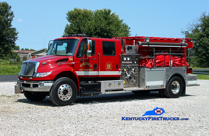 <center> Wingfield  Tanker 54 <br> 2008 International 4400/2013 Southern Fire Svcs 1250/1800/200 <br> Kent Parrish photo </center>