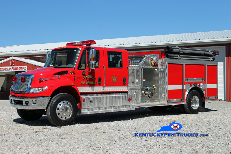 <center> Wingfield  Engine 50 <br> 2006 International 4400/American (Bowling Green) 1250/1000 <br> Kent Parrish photo </center>