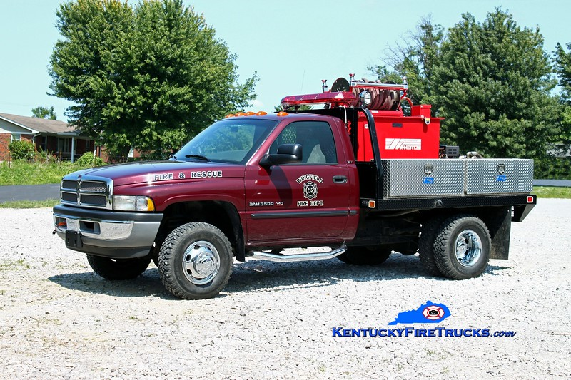 <center> Wingfield  Brush 52 <br> 2005 Dodge 3500 4x4/Mertz 250/250 <br> Kent Parrish photo </center>